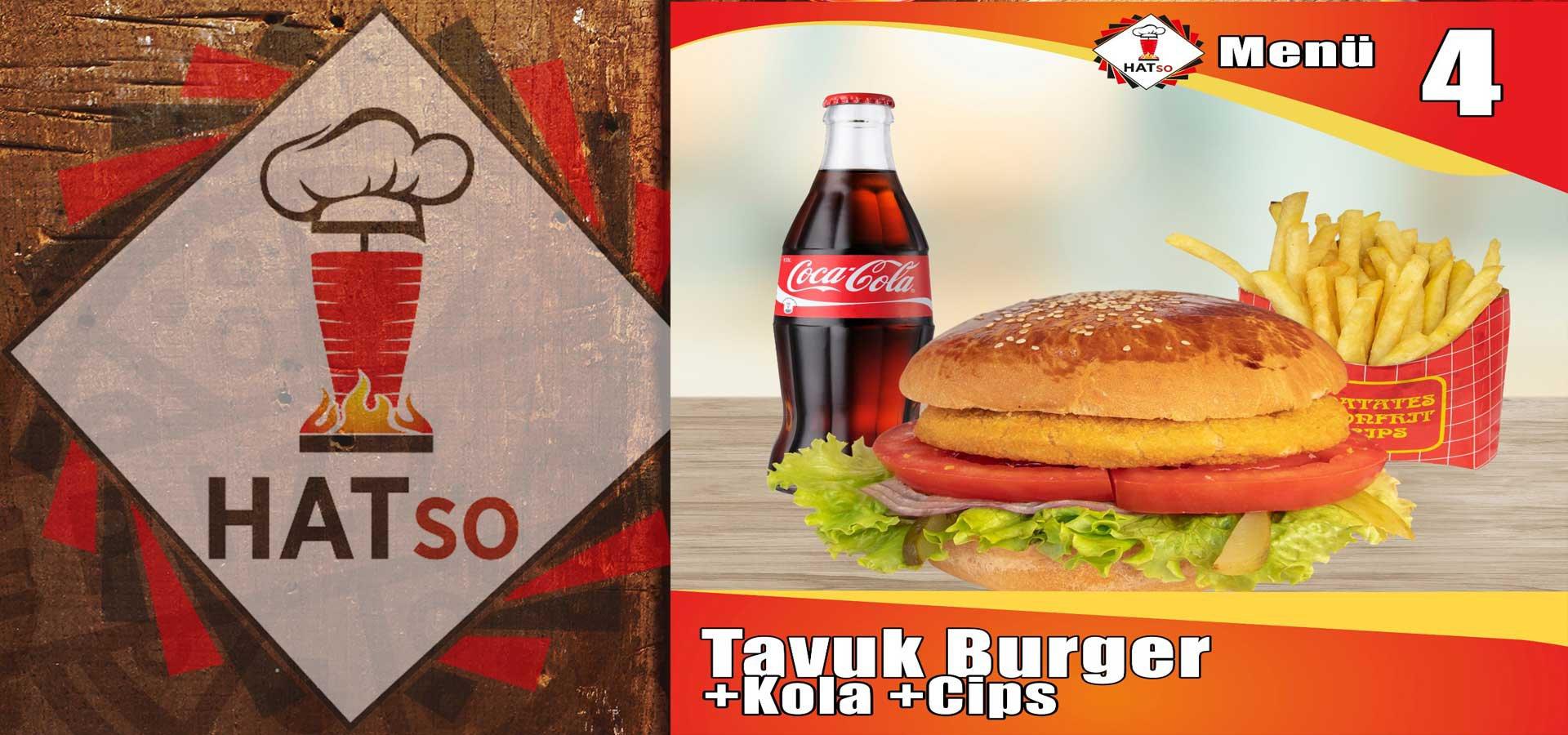 Tavuk Burger Menü